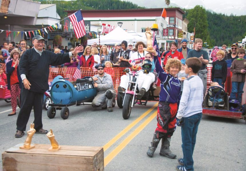 Old Time Downtown 4th of July