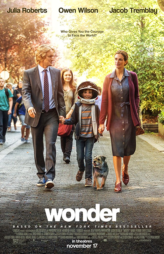 Movie: Wonder, 7pm Showing