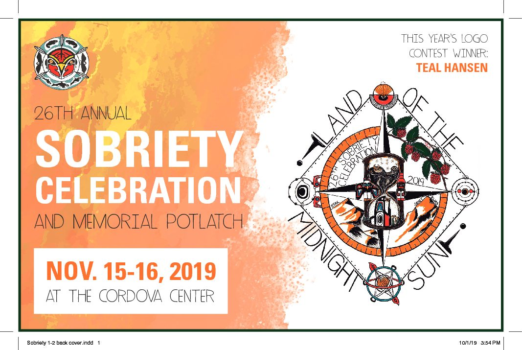 "26th Annual Sobriety Celebration ""Land of the Midnight Sun"""