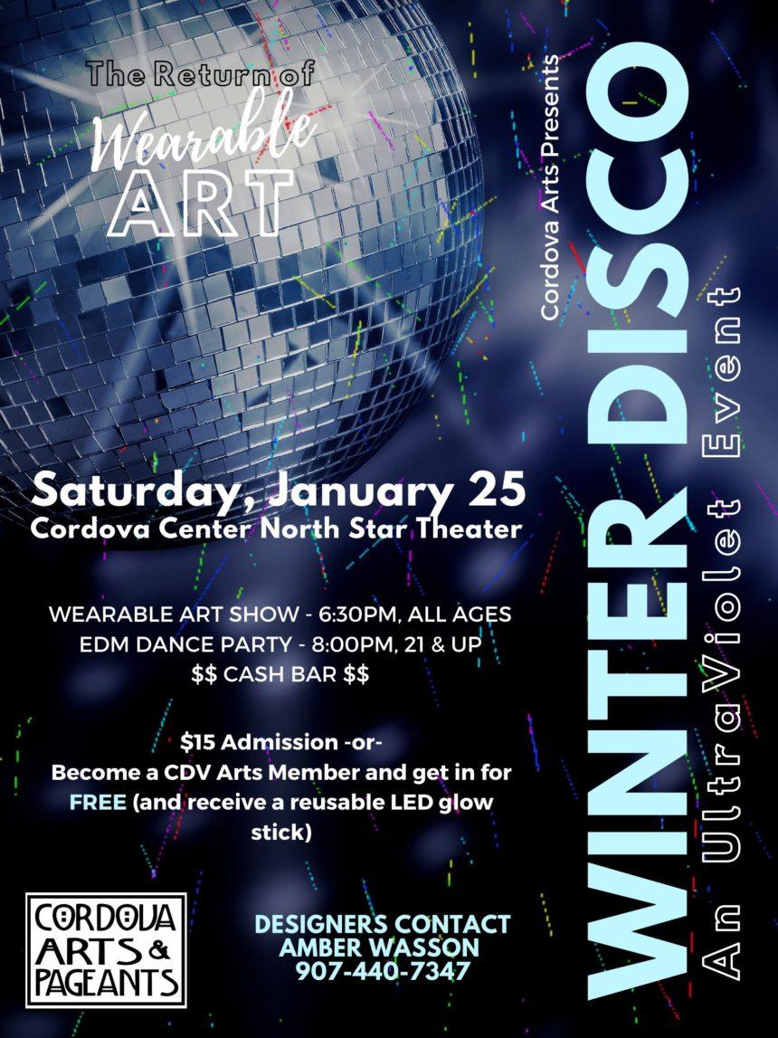Wearable Art Winter Disco